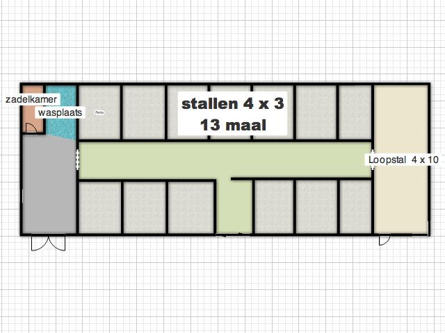 Ontwerp Nieuwe Stal